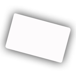 Visitenkartenbox   und 48 Aluminiumvisitenkarten 0,45 mm Klein Paket