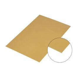 Aluminiumblech Gold Spiegelnd