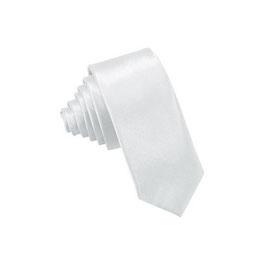 Krawatte Kreme Silber Weiss Pink