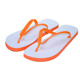 Flip-Flops Orange Erwachsen  L