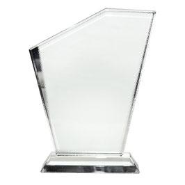 Glas-Sublicryl Freiheit mit Aufsteller