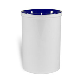 Stiftehalter Keramik Blau