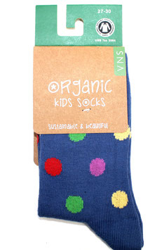 Organic Kids Socks- Pünktchen Bunt