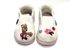 Nanga Wollwalk Hausschuh - Sweet Bambi