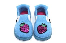 Nanga Wollwalk Hausschuh - Shiny Berry