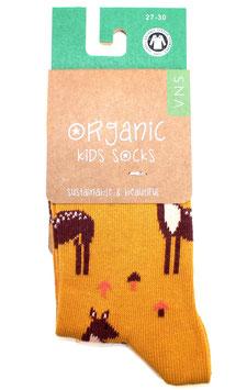 Organic Kids Socks- Pünktchen Bambi