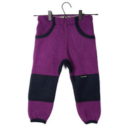 Manitober Wollwalkhose - Purple/Blau