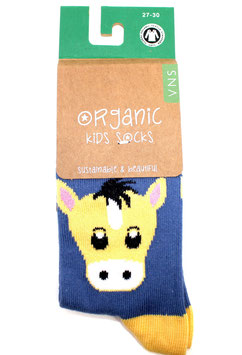 Organic Kids Socks- Esel