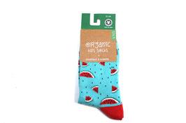 Organic Kids Socks- melone