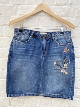 mini jupe en jeans