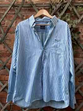 chemise bleu