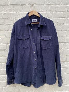 chemise en velours cotelé