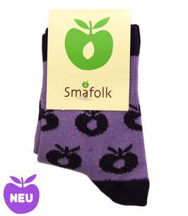 Smafolk Baby Socken Lila Gr 15-18