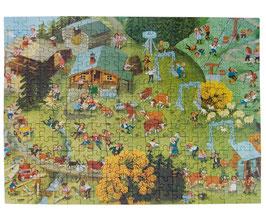 80er Puzzle In den Bergen Ali Mitgutsch