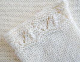 Vintage Newborn Strickhose Baby Merino