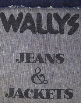 80er Vintage Lucky Star Jeanstasche