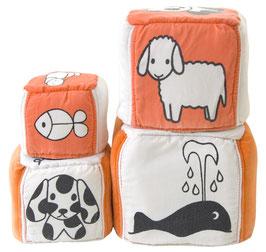 Vintage Miffy Soft Cubes Stapelturm
