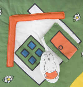Vintage Baby Spieldecke Miffy & Friends