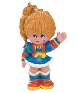 80er Schleich Regina Regenbogen Figur