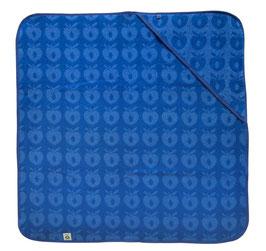 Smafolk Baby Handtuch mit Kapuze Blau