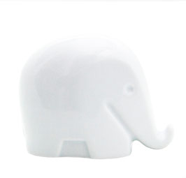 Drumbo Höchst Porzellan Elefant