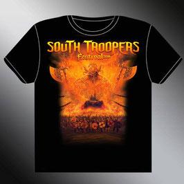 Tee shirt SOUTH TROOPERS FESTIVAL 2019 (Recto / verso) + CARTE ADHESION + en bonus Livret STF 2019