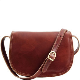 Tuscany Leather Isabella Leather Bag Brown