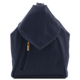 Tuscany Leather Delhi Backpack Navy
