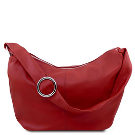 Tuscany Leather Yvette Leather Bag Red
