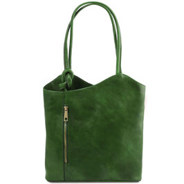 Tuscany Leather Patty Bag Green