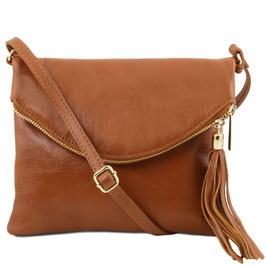 Tuscany Leather Young Soft Leather Bag Cognac