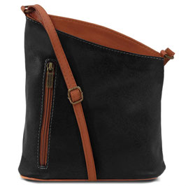 Tuscany Leather Mini Unisex Bag Black