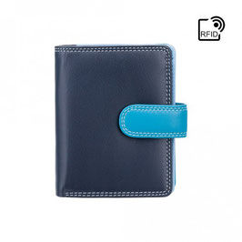 Visconti Bali Leather Purse Blue