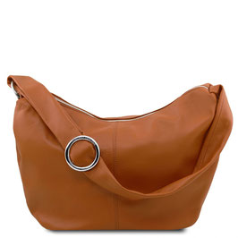 Tuscany Leather Yvette Leather Bag Cognac