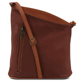 Tuscany Leather Mini Unisex Bag Brown