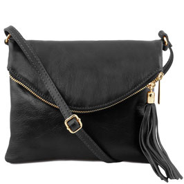 Tuscany Leather Young Soft Leather Bag Black