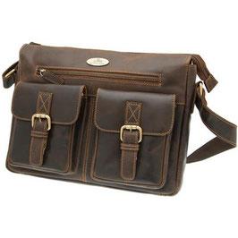 Rowallan Breda Twin Pocket Messenger Bag