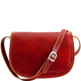 Tuscany Leather Isabella Leather Bag Red