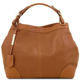Tuscany Leather Ambrosia Leather Bag Brown