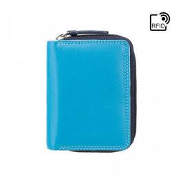 Visconti Hawaii Leather Purse Blue