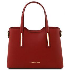 Tuscany Leather Olimpia Leather Handbag Red