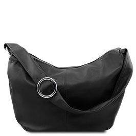 Tuscany Leather Yvette Leather Bag Black