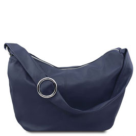 Tuscany Leather Yvette Leather Bag Navy