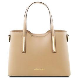 Tuscany Leather Olimpia Leather Handbag Champagne