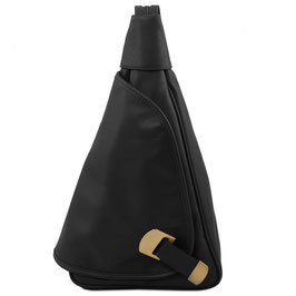 Tuscany Leather Hanoi Leather Backpack Black
