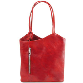 Tuscany Leather Patty Bag Red