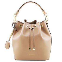 Tuscany Leather Vittoria Leather Bag Champagne