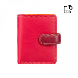Visconti Bali Leather Purse Red