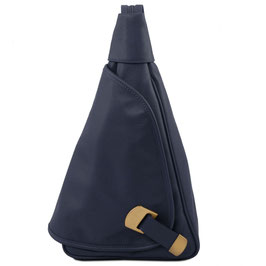 Tuscany Leather Hanoi Leather Backpack Blue