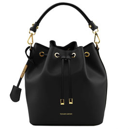 Tuscany Leather Vittoria Leather Bag Black